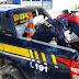 Em Riachão das Neves (BA), PRF apreende motocicleta adulterada e prende condutor na BR 135