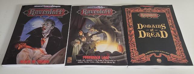 Ravenloft 2e books