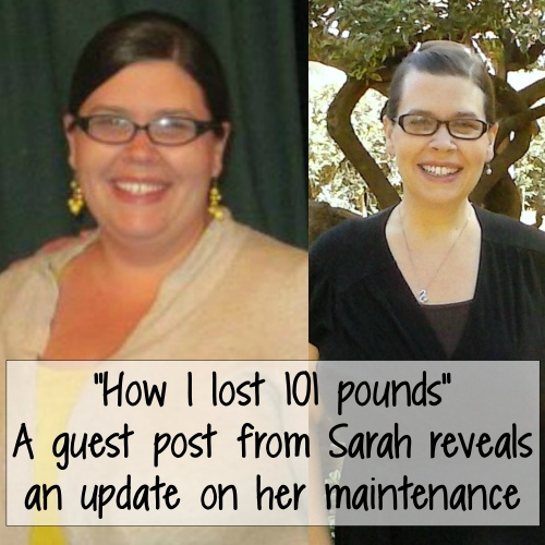 Sarah's weight loss transformation