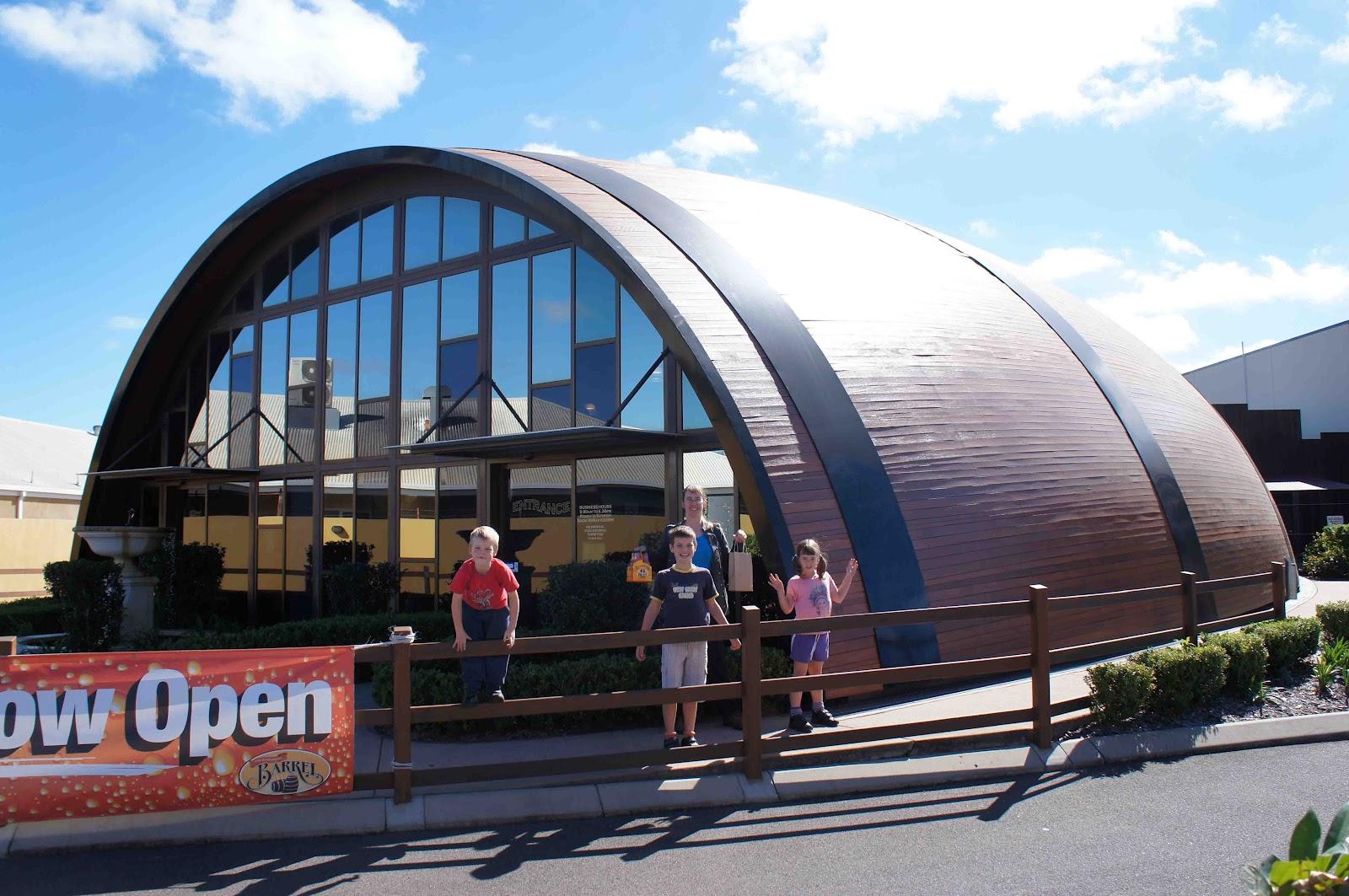 Big Barrel de Bundaberg