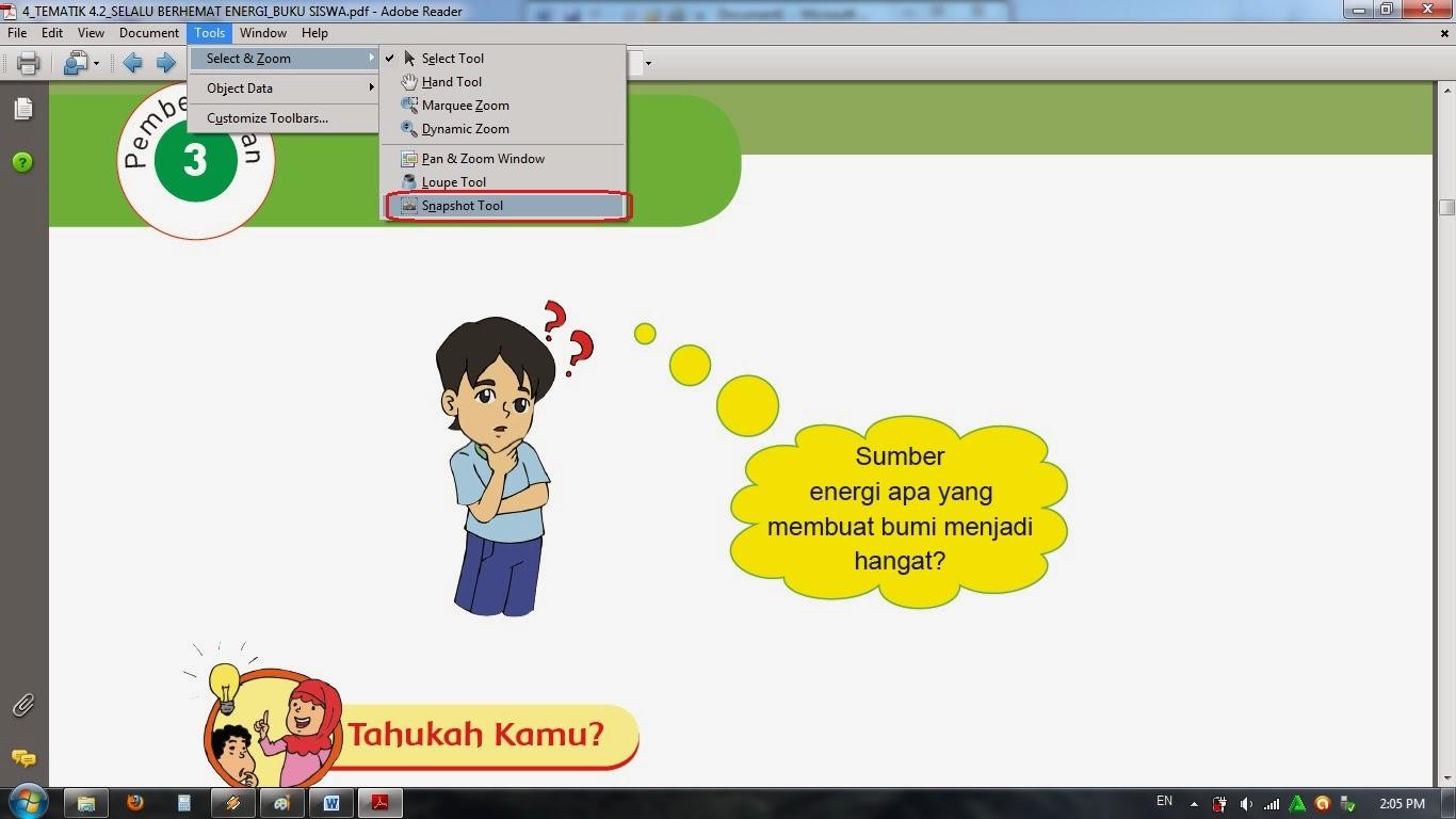 Blog Hamkani Berbagi: Cara Mengcopy Gambar dan Teks pada File PDF
