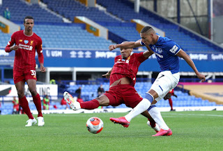 Iwobi fires blank as 236th Merseyside derby end in stalemate