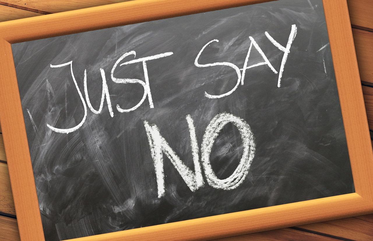 NO ಹೇಳುವುದನ್ನು ಕಲಿಯಿರಿ : Learn to say NO