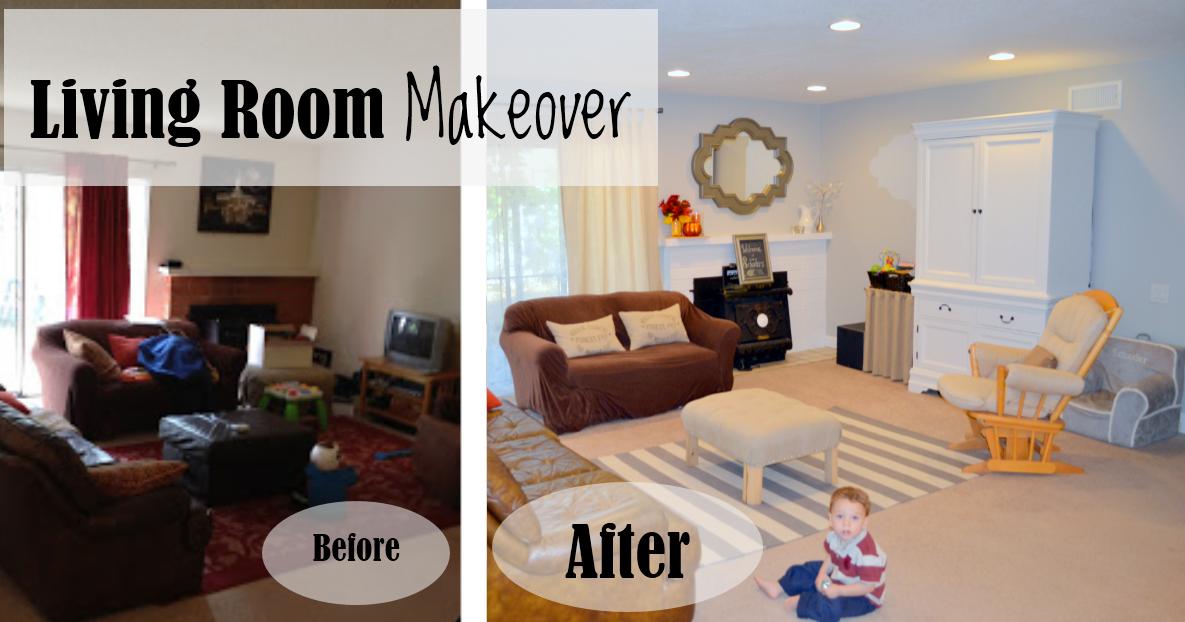 Drastic Living Room Makeover: Money Hip Mamas: DIY Home Makeover: Living Room