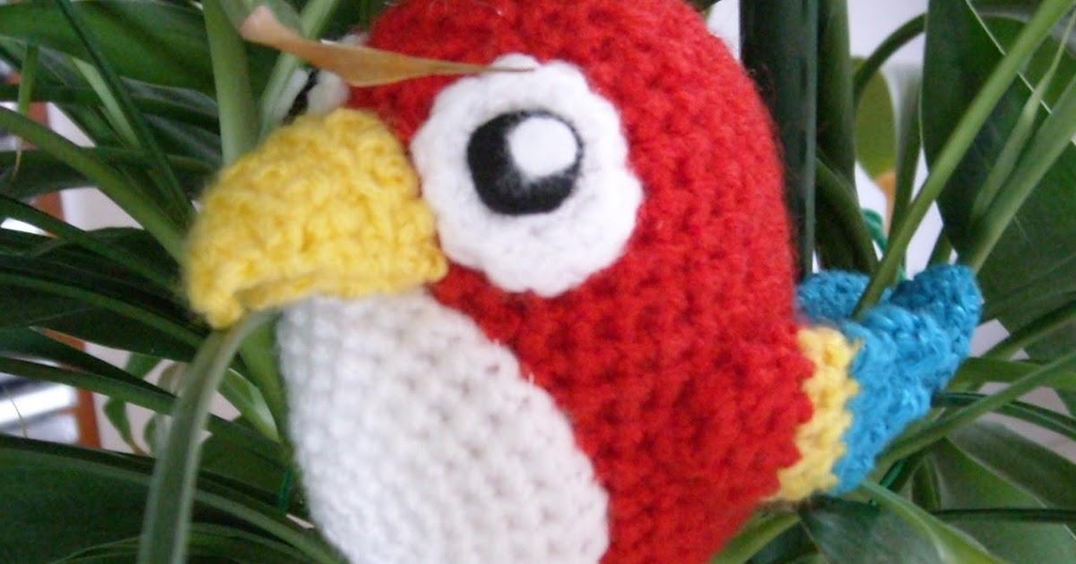 Häkelanleitung Papagei Crochet Pattern Parrot