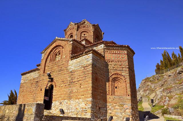 St. John Kaneo, Ohrid Lake, Macedonia