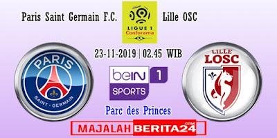 Prediksi Paris Saint Germain vs Lille — 2 November 2019