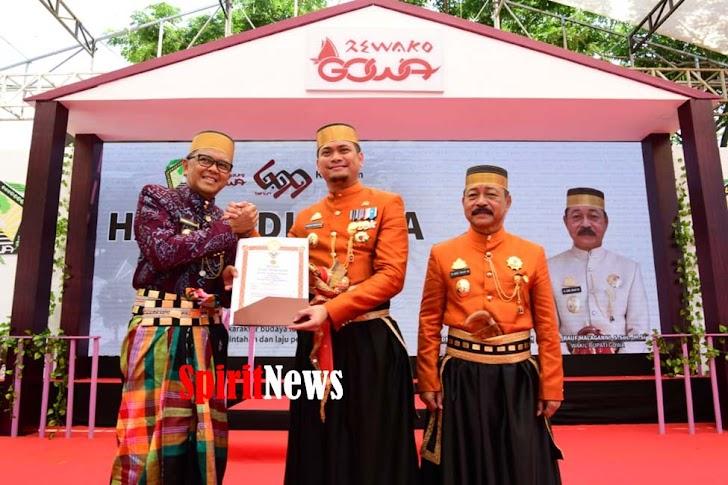 Gubernur NA, Beri Bantuan Keuangan Rp 50 M di Hari Jadinya Ke-699 Tahun Kab Gowa