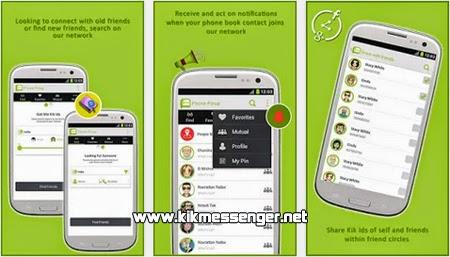 Encuentra nuevos usuarios en Social Shareup for Kik