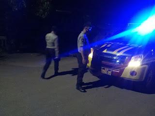 Cegah Gangguan Kamtibmas, Personil Polsek Curio Tingkatkan Patroli Malam Hari