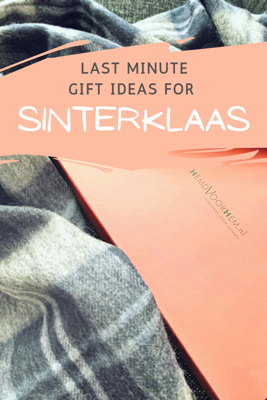 Last Minute Sinterklaas Cadeau Ideeën Voor Mannen!