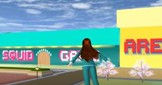 ID Arena Squid Game Di Sakura School Simulator