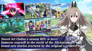 Sword Art Online Alicization Rising Steel Hack APK