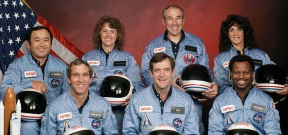 Os sete astronautas que supostamente foram mortos na Challenger
