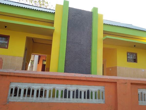 Hasil akhir pengerjaan pembangunan fisik Kamar Mandi / WC SDN Potoan Laok 1