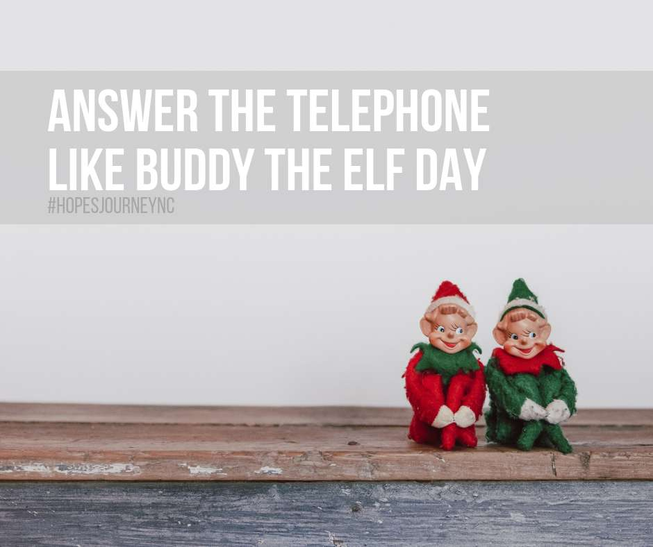 Answer The Telephone Like Buddy The Elf Day Wishes Photos