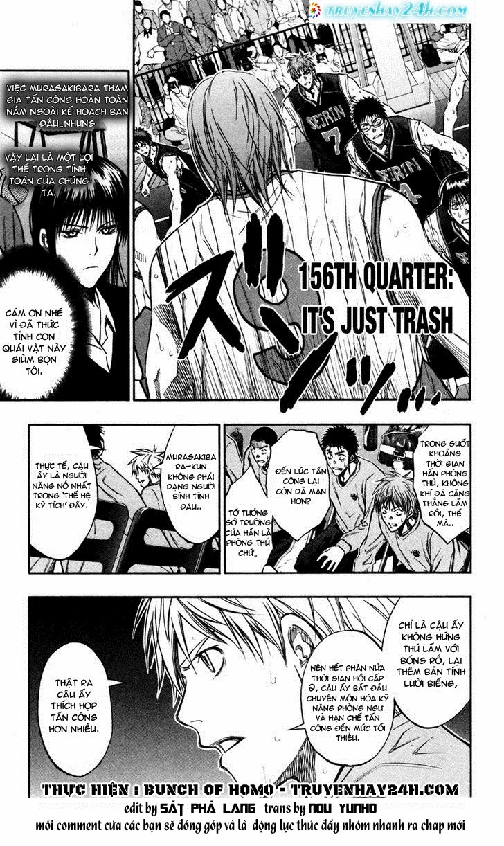 Kuroko No Basket chap 156 trang 1