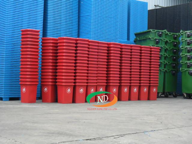 Công ty chuyên sản xuất thùng rác