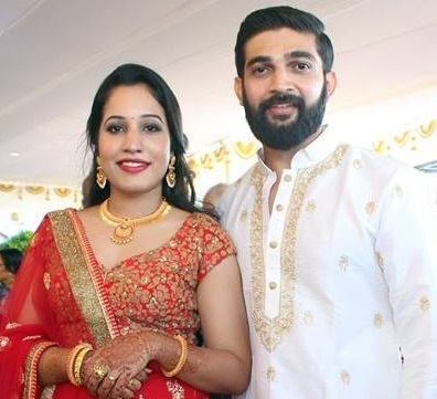 Actor Sreejith Vijay engagement photos