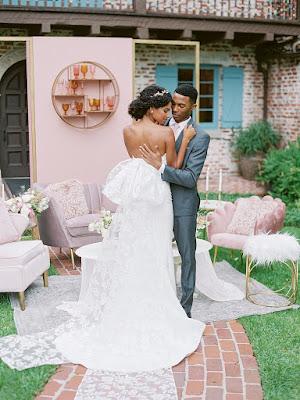 brides bow dress