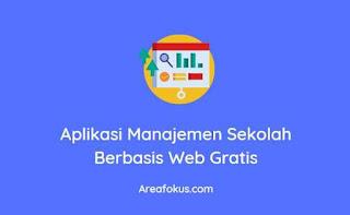 Aplikasi Manajemen Sekolah Berbasis Web Gratis