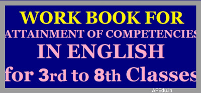 ATTAINMENT OF COMPETENCIES ENGLISH WORK BOOK  (120 Days Programme for 3rd to 8th Classes