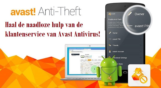 Ondersteuning door Avast Antivirus Customer Support