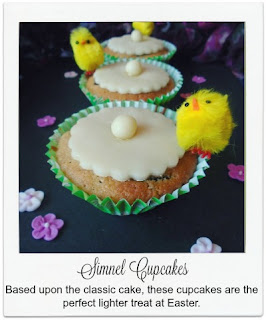 These Simnel Cupcakes are a perfect treat for Easter