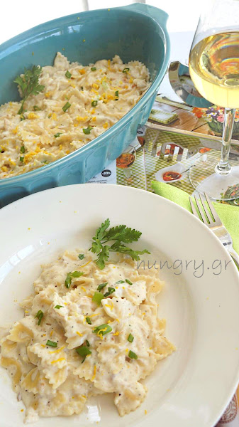 Farfalle with Smoked Trout & Bechamel Sauce