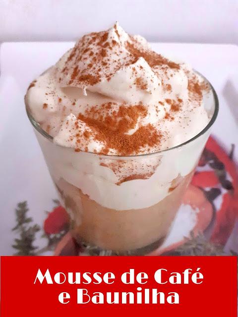 Mousse de Café e Baunilha