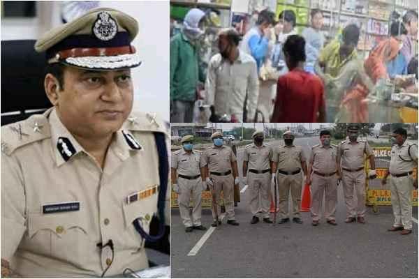 faridabad-police-commissioner-kk-rao-order-police-officer-action-shop