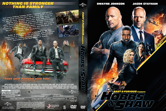 Fast & Furious Presents Hobbs & Shaw DVD Cover