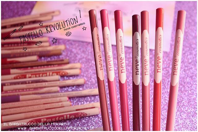 BioPastello Neve Cosmetics  pastello revolution novità