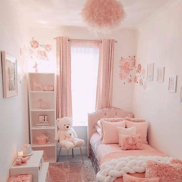 Warna Cat Kamar Tidur Anak Perempuan Sederhana