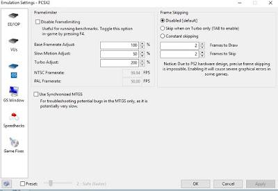 GS PCSX2 best settings