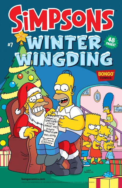 The Simpsons Winter Wingding #7