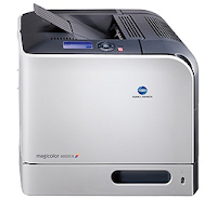 Because it uses 4 units of print at once (plus Duplex units for back and forth printing), the physical size of the magicolor 4650EN swells with weight that is also quite heavy (about 34.5kg)