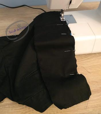 Adzik tworzy - jak poszerzyć spodnie w pasie DIY
