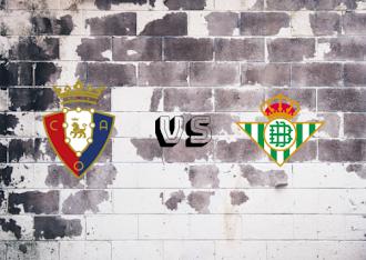 Osasuna vs Real Betis  Resumeny goles