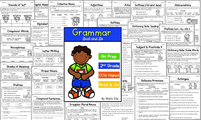 Grammar skills for primary grades