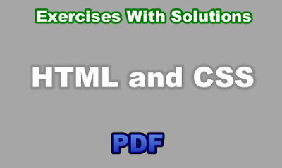 HTML and CSS Practice Exercises With Solutions