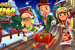Free Download Game Android Mod Subway Surfers Unlimited Coin and Key