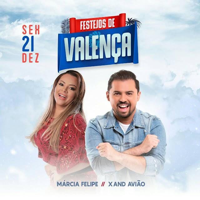 Rádio FM Cidade de Valença (PI) comemora 18 anos com shows de Xand Avião e Márcia Fellipe