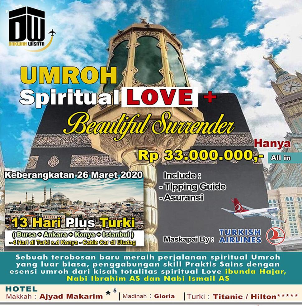 Spritual Love Dakwah Wisata