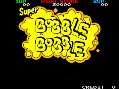 街機大型電玩:泡泡龍+作弊碼金手指(道具、無敵),超經典懷舊的益智動作類型遊戲!
