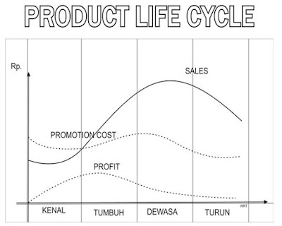 Diagram Product Life Cycles (PLC)