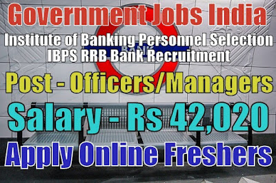 IBPS RRB Bank Recruitment 2019