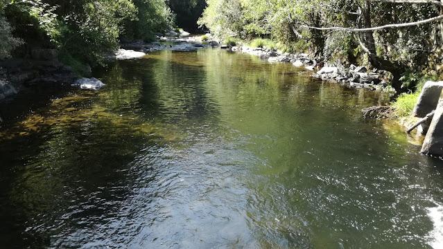 Águas cristalinas do Rio Ceira