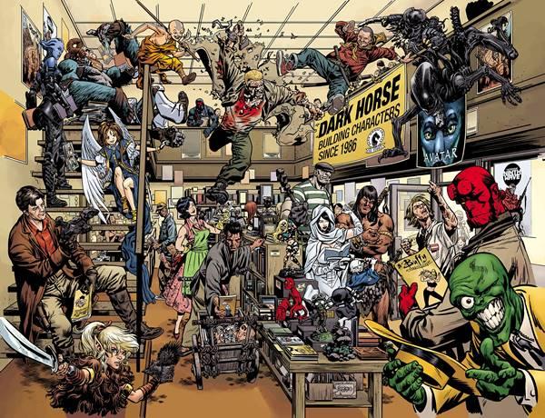 Los personajes y cómics de Dark Horse