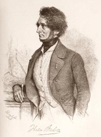Berlioz by August Prinzhofer, 1845